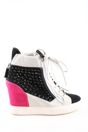Giuseppe Zanotti Wedge Sneaker multicolored casual look