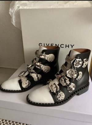 Givenchy Western Booties multicolored