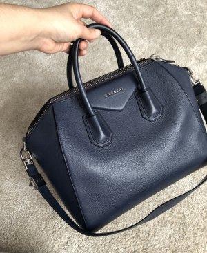 Givenchy antigona dunkelblau Medium für kurze Zeit REDUZIERT