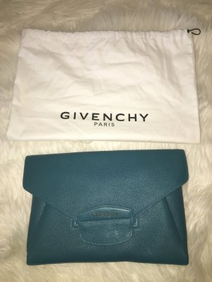 Givenchy Antigona Envelope Clutch Türkis Petrol High End Designer Bag