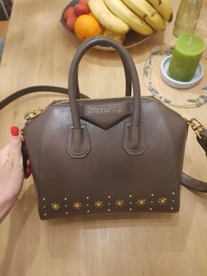 Givenchy Antigona Heather Grey with Stars