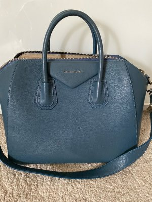 Givenchy Satchel blue leather