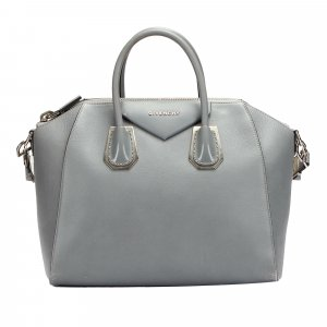 Givenchy Satchel green leather