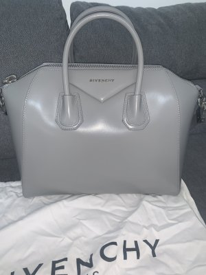 Givenchy Antigona Medium Tasche Grau Grey NEU