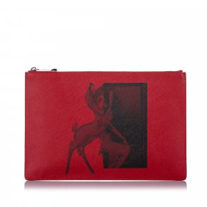 Givenchy Bambi Leather Pouch