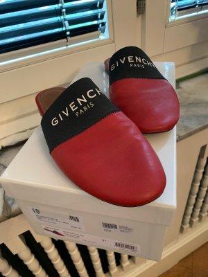 Givenchy Sandalias cómodas negro-rojo