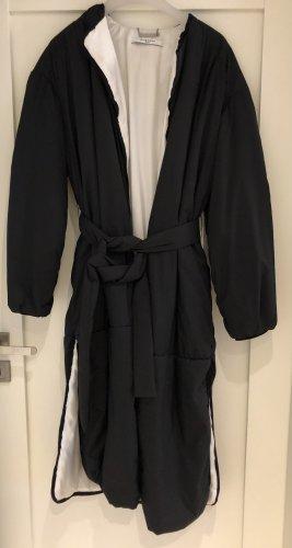 Givenchy Abrigo ancho negro