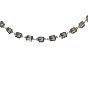 Givenchy Double G Link Necklace