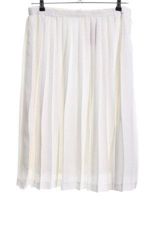 Givenchy Falda a cuadros blanco estampado repetido sobre toda la superficie