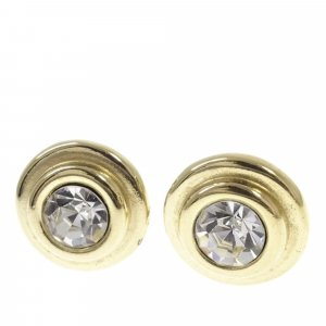 Givenchy Gold Rhinestone Earrings