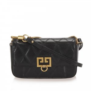 Givenchy GV3 Leather Crossbody Bag