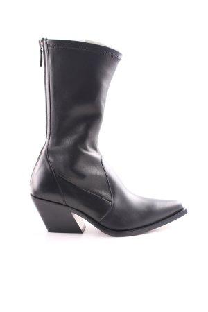 Givenchy Halbstiefel schwarz extravaganter Stil