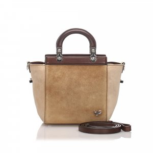 Givenchy HDG Suede Satchel