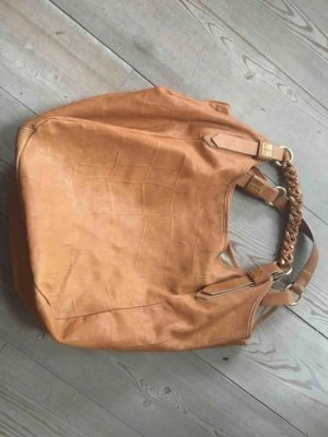 Givenchy Bolsa Hobo color oro-coñac