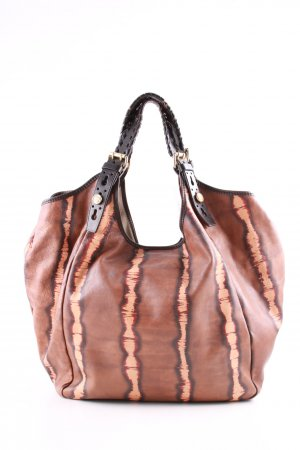 Givenchy Hobos brown-nude abstract pattern casual look
