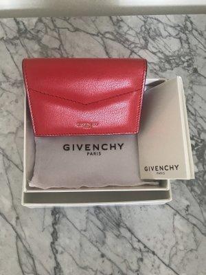 Givenchy Portmonetka czerwony Skóra