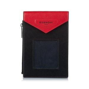Givenchy Sac seau noir cuir