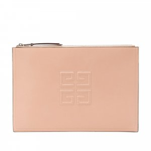 Givenchy Leather 4G Clutch Bag