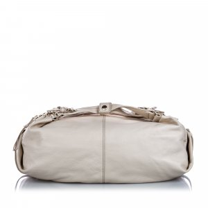 Givenchy Hobos white leather