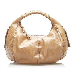 Givenchy Bolsa Hobo marrón claro Cuero