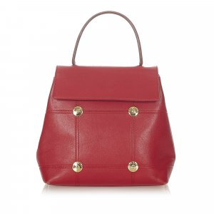 Givenchy Satchel red leather