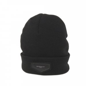 Givenchy Logo Wool Beanie Hat