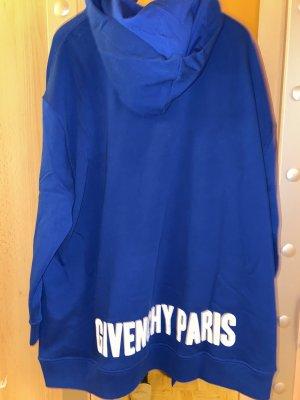 Givenchy Robe à capuche bleu