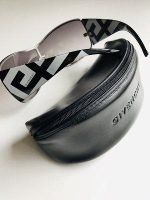 Givenchy Lunettes de soleil ovales noir-blanc