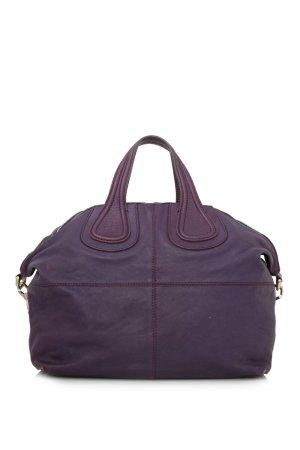 Givenchy Satchel purple leather