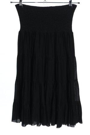 Givenchy Falda midi negro look casual