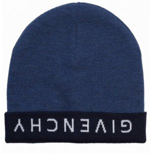 Givenchy Knitted Hat multicolored wool
