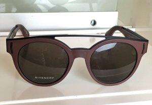 Givenchy Gafas de piloto marrón-negro tejido mezclado