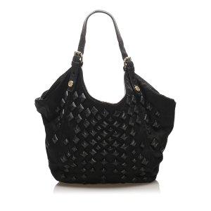 Givenchy New Sacca Studded Nylon Shoulder Bag