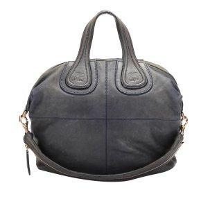 Givenchy Satchel dark blue leather