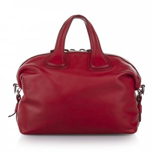 Givenchy Satchel rood Leer