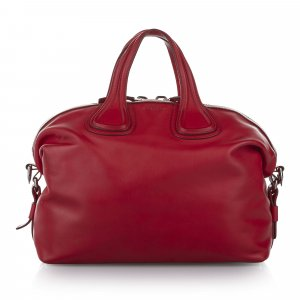 Givenchy Sacoche rouge cuir