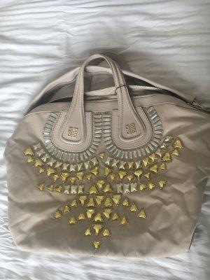Givenchy Nightingale Tasche Sonderedition in beige nylon