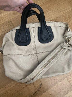Givenchy Nightingdale beige schwarz Tasche Leder