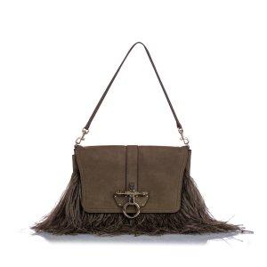 Givenchy Obsedia Suede Shoulder Bag