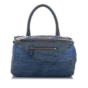 Givenchy Sacoche bleu cuir