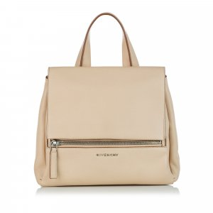 Givenchy Satchel beige leather