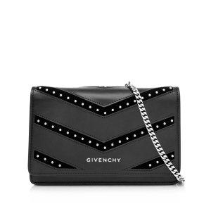 Givenchy Sac bandoulière noir cuir