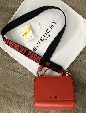 Givenchy Bolso rojo-negro Cuero