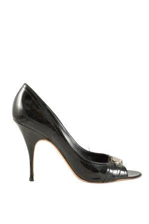 Givenchy Peeptoe Pumps schwarz Casual-Look