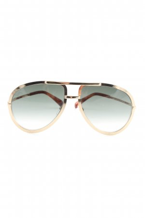 Givenchy Pilot Brille goldfarben Casual-Look