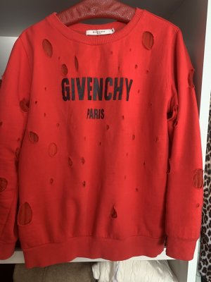 Givenchy Cardigan lungo rosso