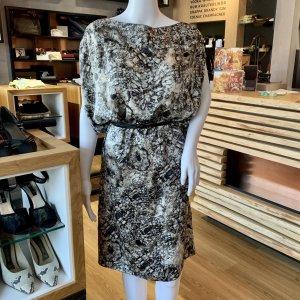 Givenchy Vestido de manga larga multicolor Seda