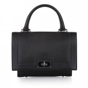 Givenchy Shark Tooth Leather Satchel
