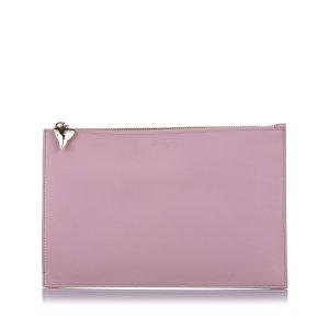 Givenchy Sac seau rose clair cuir