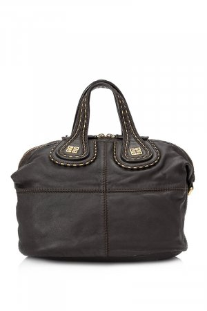 Givenchy Satchel dark brown leather
